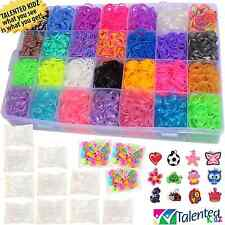 8500+ PREMIUM QUALITY RAINBOW RUBBER BANDS REFILL and STORAGE ORGANIZER LOOM: 28
