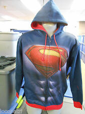Mens Licensed DC Comics Superman Hoodie NWT 2XL