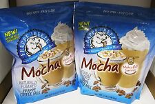 Lot of 8 Mocha Frappe Coffee Mix Bags 3 Pounds Each