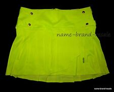 NWT TORRID TRIPP NYC Plus Size 16 Skirt NEON Yellow SCHOOLGIRL Punk Goth 1X XL
