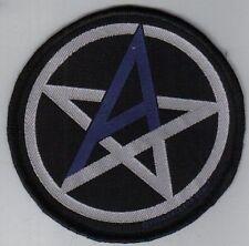 ANTHRAX - Patch Aufnäher - rund Pentagram 9x9cm