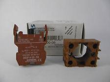 1x Siemens Schaltelement mit Halter 3SB1 300-0B Contact Block Holder Neu OVP