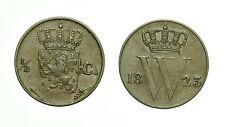 pcc1590_23)  Nederlanden Olanda 1/2 cent 1823 Rare