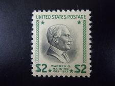 1938 #833 $2.00 Warren G Harding  MNH OG #1