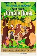 "VINTAGE JUNGLE BOOK MOVIE -  DISNEY POSTER 12"" x 18"""