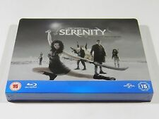 Serenity Blu-ray Steelbook [UK] OOS/OOP RARE REGION FREE PLAY.COM EXCLUSIVE!!!