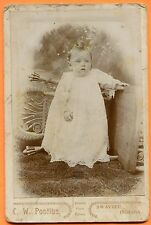 Swayzee, IN, Portrait of a Toddler, by Pontius, circa 1890s