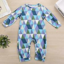 Newborn Infant Baby Boy Girl Bodysuit Costume Romper Jumpsuit Outfits Clothes