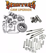 "585G S&S Gear Drive Cams Set Pushrods Lifters Engine Kit Harley 88"" Twin Cam"