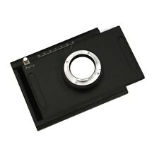 New Moveable Adapter Plate for 4 x 5 Large Format Camera Body to Sony NEX Series