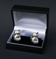 Mouse on Apple Cufflinks Boxed Novelty Wedding Gift Cuff Links FREE UK POST