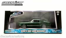 GREENLIGHT 1967 FORD MUSTANG THE FAST AND FURIOUS 2006 TOKYO DRIFT 1/43 86211