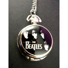 RARE The Beatles Child Women Girl Men Kid Fashion Pocket Pendant Watch Necklace