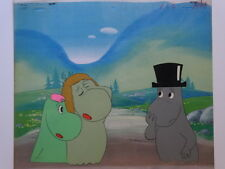 MOOMIN ANIME CEL 1969 HAYAO MIYAZAKI ANIMATION ART MUSHI JAPAN TAVOLA ORIGINALE