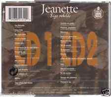 RARE 70s 80'S 2CDs+booklet JEANETTE porque te vas (FRANCE VERSION) SOY REBELDE