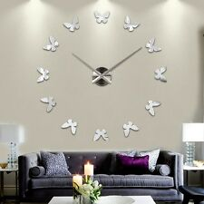 Modern Large Wall Clock 3D DIY Home Decoration Living Room Bedroom Kitchen