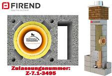 Schornstein Bausatz 7,32 m DN 18 mit Z- Schacht  Kamin Keramik Massiv 3-schalig