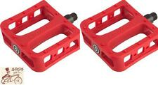 """PRIMO SUPER TENDERIZER PC 9/16"""" 3-PIECE CRANK RED BMX BICYCLE PEDALS"""