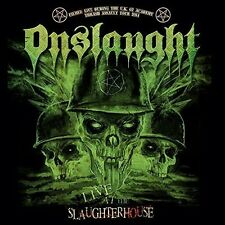 Live At The Slaughterhouse - Onslaught (2016, CD NEUF)2 DISC SET