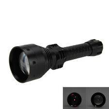 T67 Zoomable Infrared Light Hunting Torch  Flashlight 850nm Night Vision Torch