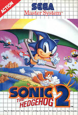 Framed Print - Sonic The Hedgehog 2 SEGA Master System (Picture Mega Drive Art)