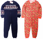 KIDS BOYS ANGRY BIRDS ONESIE ALL IN ONE PYJAMAS 5 6 7 8 9 10 11 12 YEARS BNWT