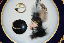 WONDERFUL VINTAGE SET OF THREE ASSORTED PINS OR BROOCHES AS PER PICTURES # M-003