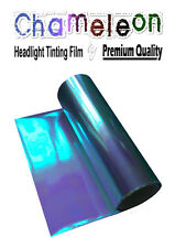 2 x A4 Sheets Chameleon Purple Car / Motorbike Headlight Rear Lamp Tinting Film
