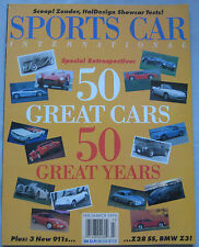 Sports Car International 2-3/1996 featuring Lagonda, Ferrari 512, Porsche, Ascar