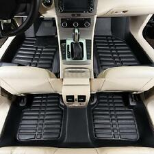 5pc Car Floor Mats Front & Rear Liner Waterproof All Weather Universal Auto Mat