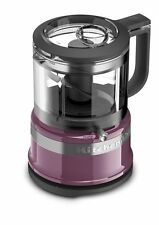 KitchenAid KFC3516BY 3.5 Cup Mini Food Chopper Processor Boysenberry - Brand New