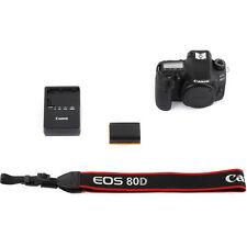 Brand New Canon EOS 80D DSLR Camera Body Only - 1263C004 - Original Box