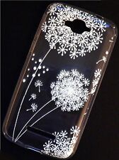 Silicona Funda TPU flor para Alcatel One Touch Pop c7 7041d funda protectora