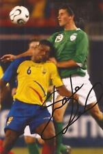 IRELAND & SOUTHAMPTON: SHANE LONG SIGNED 6x4 ACTION PHOTO+COA