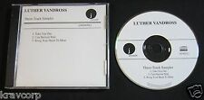 LUTHER VANDROSS—2001 PROMO CD SAMPLER