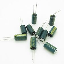 (2200uF / 6.3V) 10 x 20mm Aluminum Electrolytic Capacitor (Pack of 10)