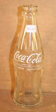 Coca-Cola White ACL Hobbleskirt Bottle, 0.185 Liter, Holland, 1979, Crown Top