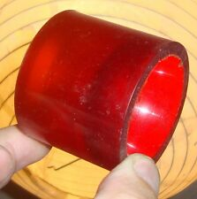 Power paw-années old school skateboard roues-clair rouge/orange fade - 55mm