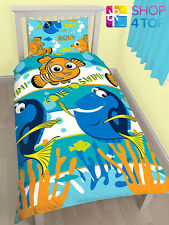 FINDING NEMO DORY SINGLE DUVET COVER PILLOWCASE SET BEDDING BED QUILT NEW COZY