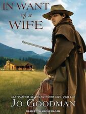 In Want of a Wife by Jo Goodman (2014, MP3 CD, Unabridged)