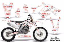 AMR Racing Honda CRF 250R Graphic Wrap Decal Kit MX Bike Sticker 10-13 SLVRHZE R