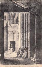 PARIS escalier du télégraphe dans la tour de l'ancienne abbaye écrite