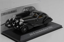 Mercedes-Benz 500 K Autobahnkurier 1934 schwarz 1:43 IXO Altaya Collection 6