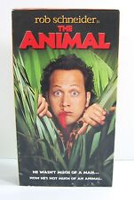The ANIMAL (VHS, 2001) Comedy Video Rob Schneider Movie PG-13 Colleen Haskell