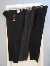 Lot of 3 Mens Designer Pants Size 36 x 30 Trousers Perry Ellis Calvin Klein Linc