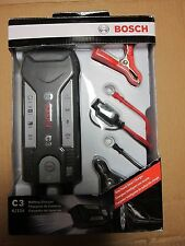 Bosch C3 Fully Automatic 4-Mode 6/12V Smart Battery Charger and Maintainer, 3.8A