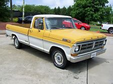 Ford: F-100 SPORT CUSTOM NEAT FACTORY YELLOW/WHITE F1 F150 SIS