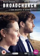 Broadchurch (DVD, 2013, 3-Disc Set) David Tennant