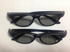 2 pcsx NEW PTA468 ORIGINAL Passive 3D GLASSES - LG SONY Panasonic Sharp PHILIPS