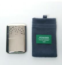 Peacock Pocket Hand Warmer Vintage Oil Refill Type Baby Size Heating for 20hr